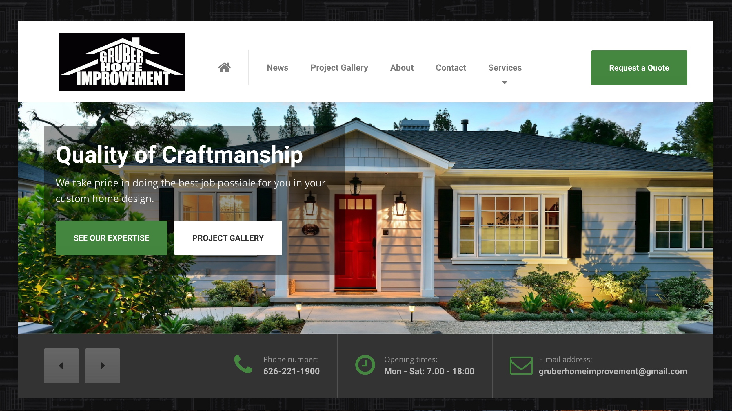 Redesign of gruber home improvement open skies design - Home improvement design ...
